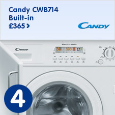 Candy CWB714 Built-in Washing Machine