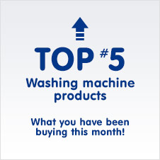 TOP 5 Washing Machine products - What you have been buying this month!